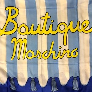 Boutique Moschino Large Stripe Scarf